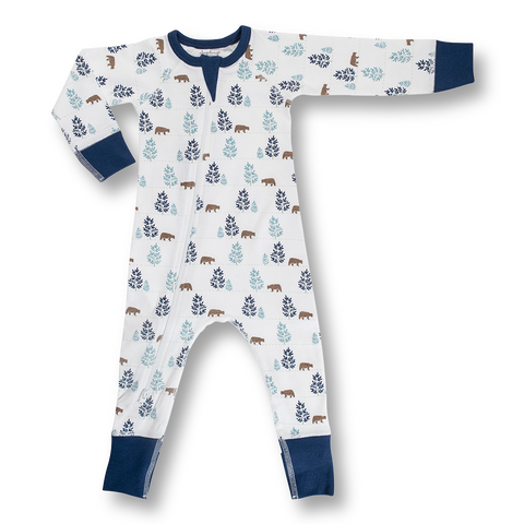 Boy Zip Rompers