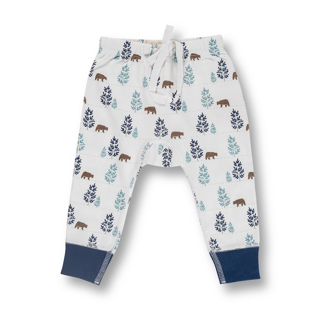 Bear Pants - Sapling Organic Baby Clothes