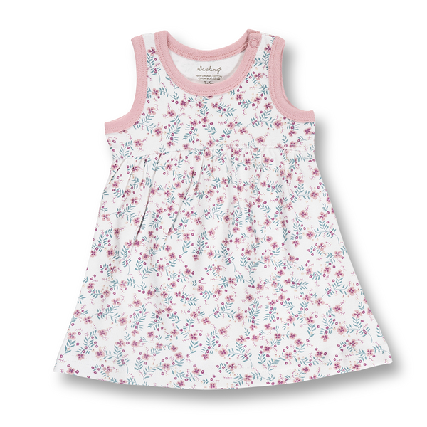 Full Bloom Dress - Sapling Organic Baby Clothes