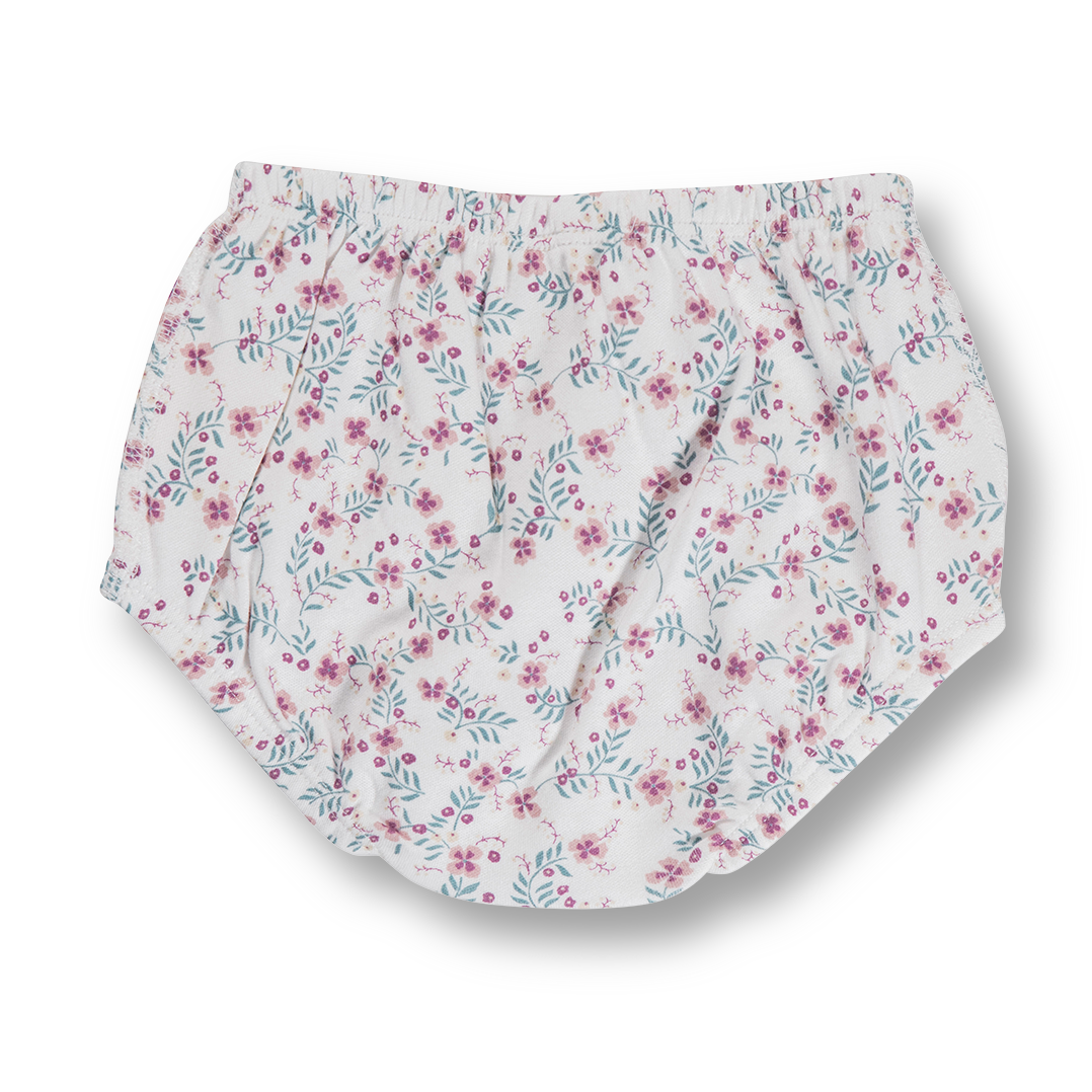 Full Bloom Bloomers - Sapling Organic Baby Clothes