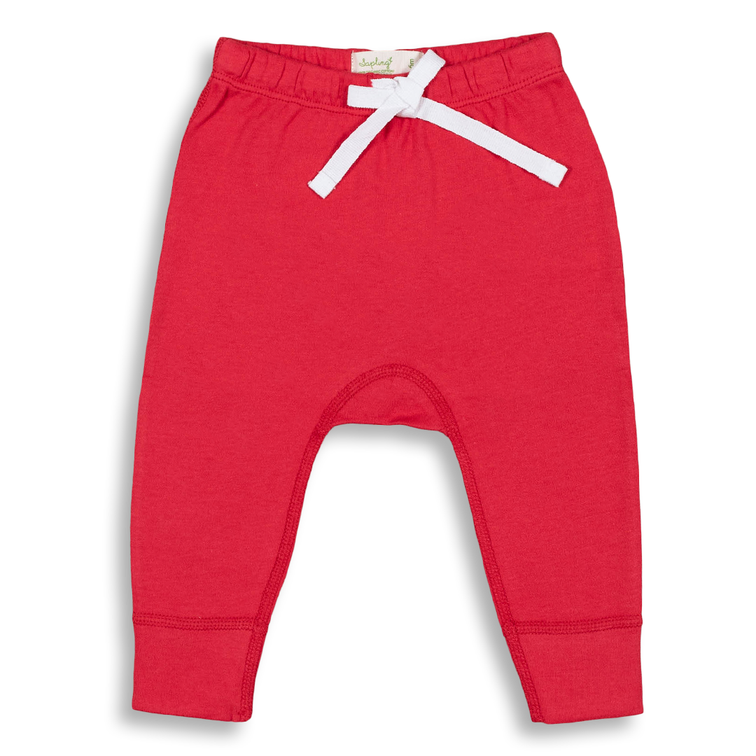 Apple Red Heart Pants - Sapling Child Australia