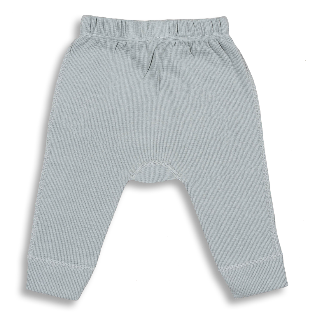 Alpine Grey Waffle Pants - Sapling Child Australia