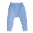 Whale Blue Pants - NO HEART - Sapling Organic Baby Clothes