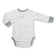 Laurel Leaf Long Sleeve Bodysuit - Sapling Organic Baby Clothes