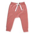 Bud Pink Heart Pants - Sapling Organic Baby Clothes
