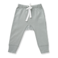 Neutral Grey Pants - NO HEART - Sapling Child