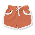 Fox Brown Shorts - Sapling Organic Baby Clothes