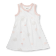 Blushing Orbit Dress with Bloomer - Sapling Organic Baby Clothes