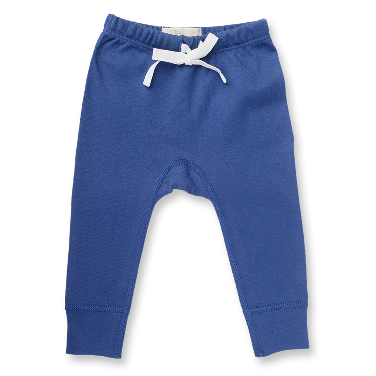 Jet Stream Blue Pants (WITHOUT HEART) - Sapling Organic Baby Clothes