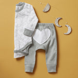 Laurel Leaf Long Sleeve Bodysuit - Sapling Child