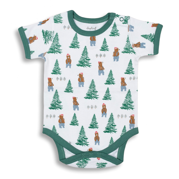 Lumberjack Short Sleeve Bodysuit - Sapling Child Australia