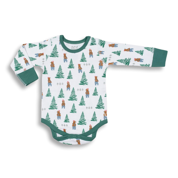 Lumberjack Long Sleeve Bodysuit - Sapling Child Australia