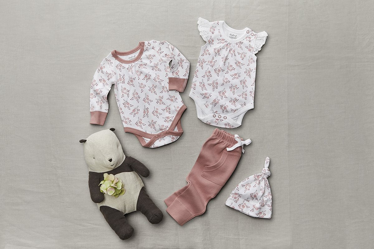 Bramble Lace Bodysuit - Sapling Child Australia