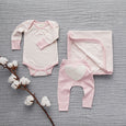 Dusty Pink Snuggle Wrap - Sapling Organic Baby Clothes