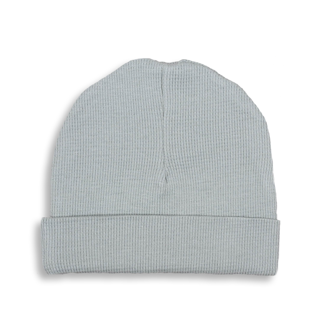 Alpine Grey Waffle Hat - Sapling Child Australia