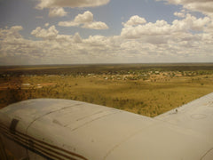 Flying into Fitzroy Crossing, WA
