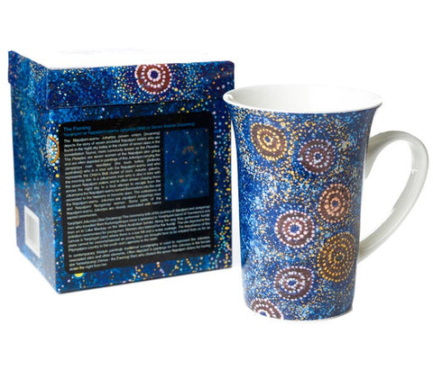 Alma Nungarrayi Granites (Ceramic Mug with Gift Box)