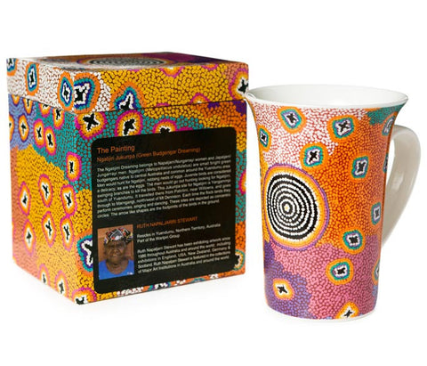 Ruth Napaljarri stewart (Ceramic Mug and Gift Box)
