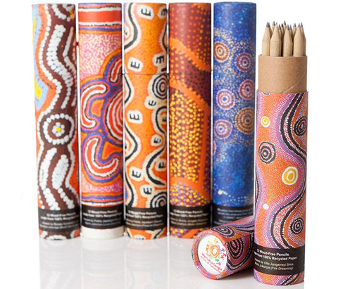 Recycled Pencils (Set of 6 tubes)