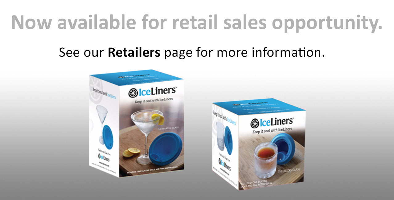 IceLiners - Now available for retailers. See us at the NY NOW show Aug 20-24, 2016.