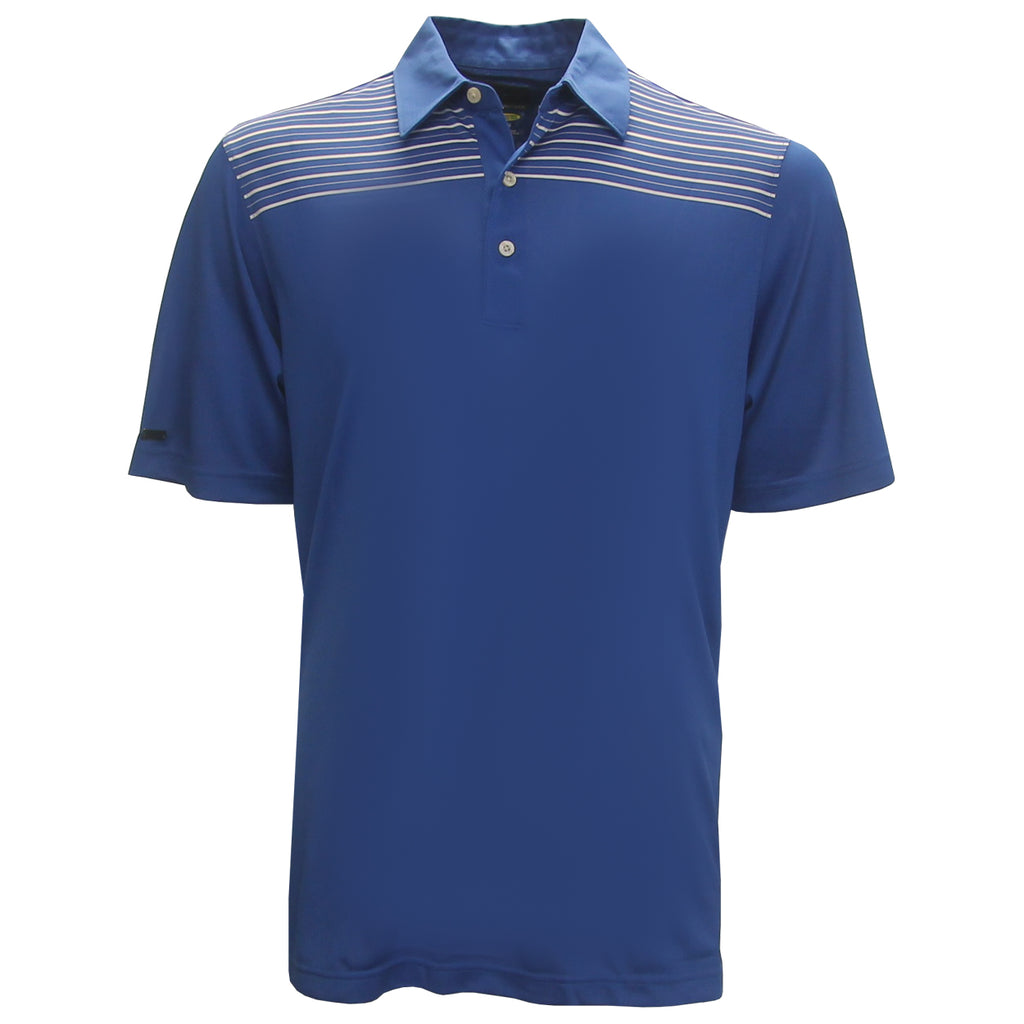 Greg Norman Engineered Stripe Polo Golf Shirt **Closeout**