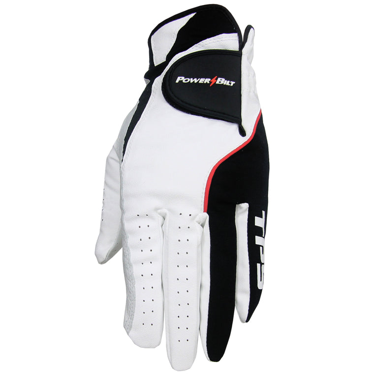 PowerBilt TPS Cabretta Tour Golf Gloves (3-Pack)