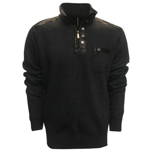 Leonardo Gavino December Half-Zip Pocket Golf Sweater