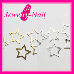 Metal Star 6.4mm x 6.4mm Gold