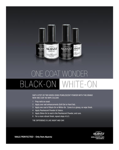 White On Nonwipe for Chrome 5ml Mini Size