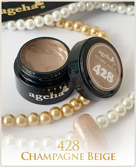Ageha Cosme Color #428 Champagne Beige