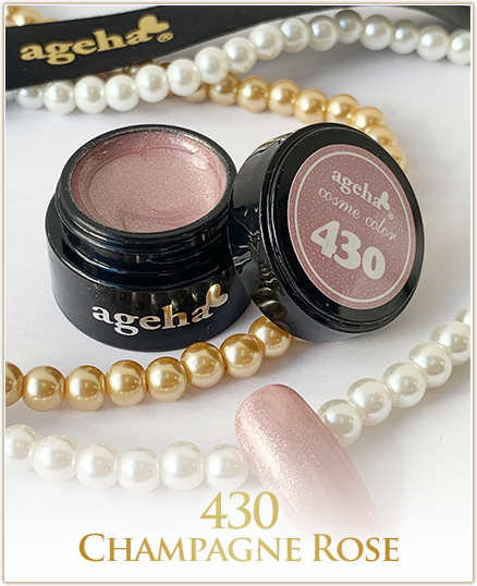 Ageha Cosme Color #430 Champagne Rose