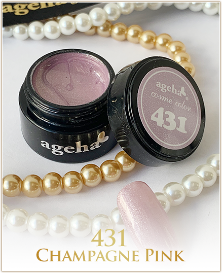 Ageha Cosme Color #431 Champagne Pink