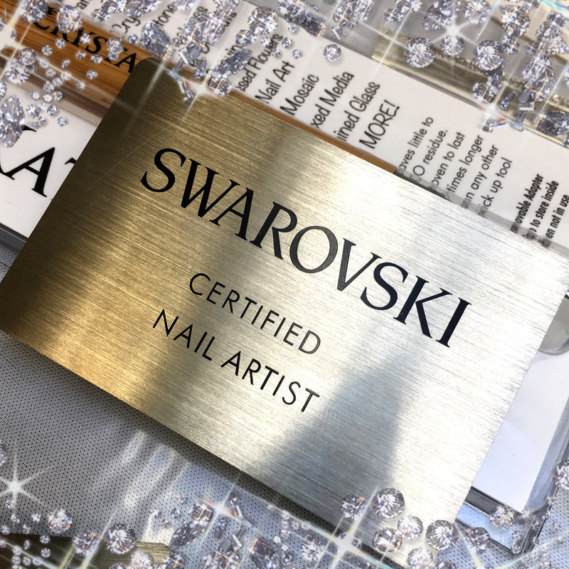 Swarovski Certified Nail Artist Workshop