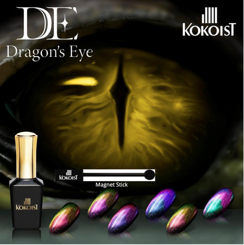 Dragon's Eye 5D Gel - 6 Color Set + Magnet Stick