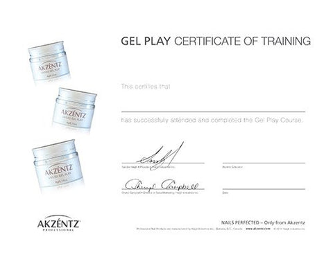 Gel Play Certification Class