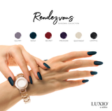 LUXIO RENDEZVOUS COLLECTION 15ml Full Size x 6 Colors