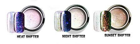 GEL PLAY Glitter Shifters Miami 3 x 2g Mini size