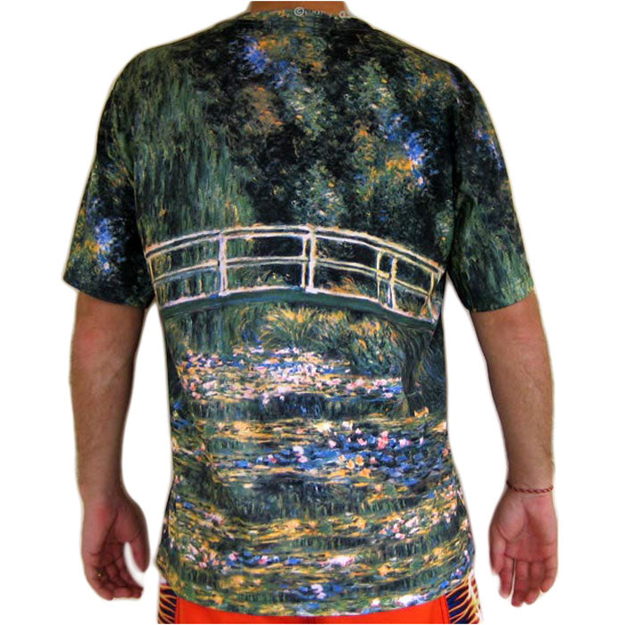 T-shirt Monet sur artprintclothing.com