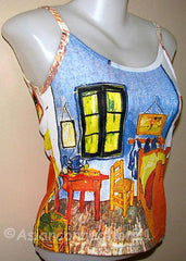Bedroom in Arles Vincent Van Gogh Art Shirt Singlet TANK TOP Misses S M L XL PN