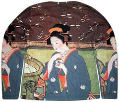 GEISHA with TEA Japanese Ukiyoe Art Print LONG SLEEVE T Shirt Misses S M L XL