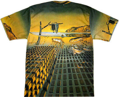 DISINTEGRATION OF MEMORY Salvador Dali Short Sleeve Fine Art T Shirt Mens M L XL
