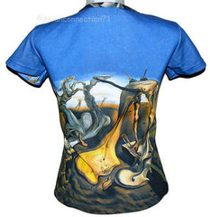 DALI Daddy Longlegs HOPE Fine Art Print T Shirt Misses Cap Sleeve S M L XL