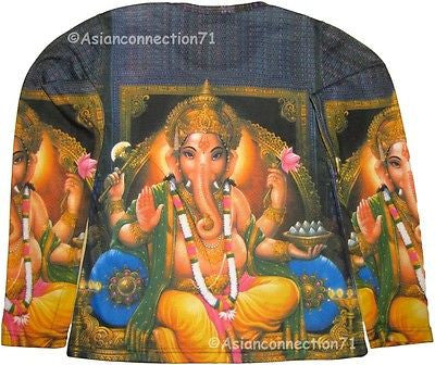 Lord Ganesh LONG SLEEVE Hindu Fine Art Print T Shirt