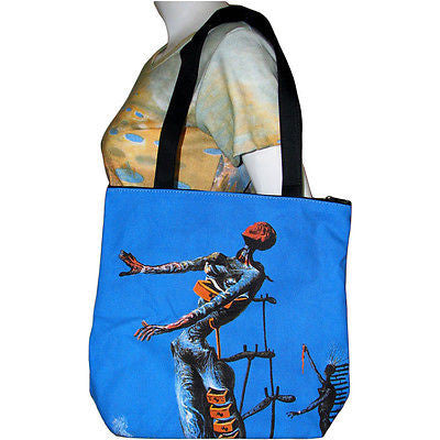 BURNING GIRAFFE Salvador Dali Fine Art Print Bag Purse Tote S Small