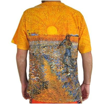 SEMINATORE COL SOLE The Sower Fine Art Print VAN GOGH T Shirt MENS M L XL