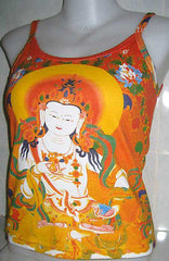 GUANIM Buddhist Goddess of Mercy Hindu Art Print Singlet Shirt TANK TOP S M L XL