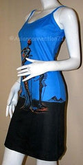 Burning Giraffe Salvador Dali Fine Art Print Dress Misses S M L XL