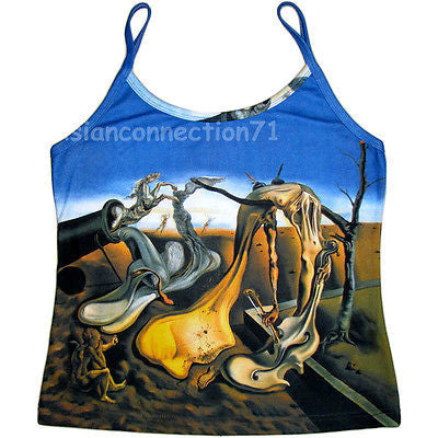 DADDY LONGLEGS Evening HOPE Dali Art Shirt Singlet TANK TOP Misses S M L XL