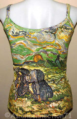 PEASANT WOMEN DIGGING New VAN GOGH Art Print Shirt Singlet TANK TOP S M L XL
