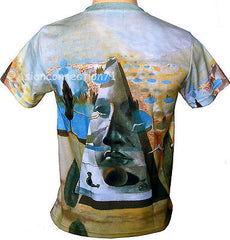 Salvador Dali PYRAMID FORTUNE Fine Art Print Short Sleeve T Shirt Mens M L XL